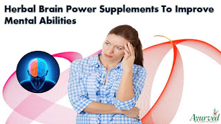 Natural Brain Power Supplements